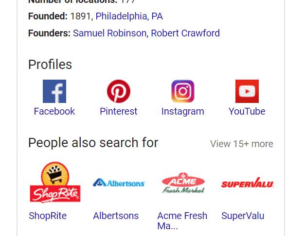 social-profile-schema-serp-example