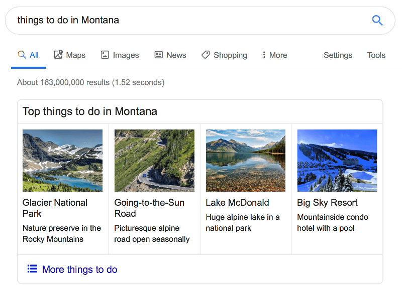 things-to-do-montana-structured-data-rich-result